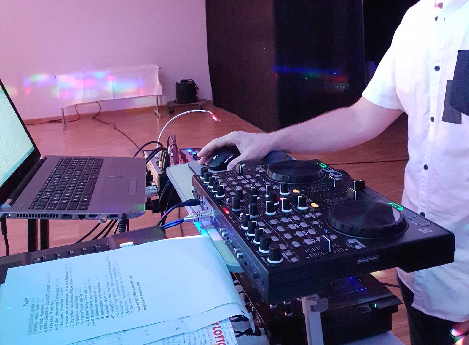 DJ & Licht für Hochzeiten und Geburtstage